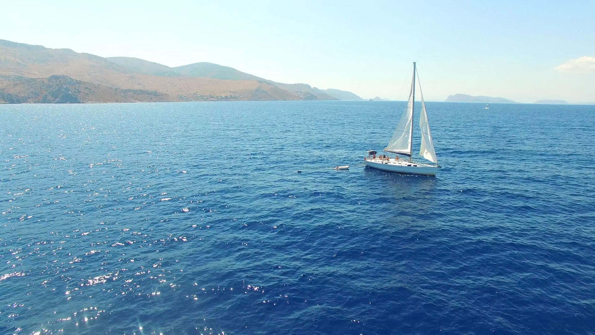 Voor het mondaine eiland Hydra in Griekenland.